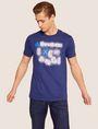 ARMANI EXCHANGE SLIM-FIT NEON SIGN CREW Logo T-shirt [*** pickupInStoreShippingNotGuaranteed_info ***] f