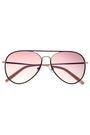 MATTHEW WILLIAMSON Aviator-style tortoiseshell acetate and gold-tone sunglasses