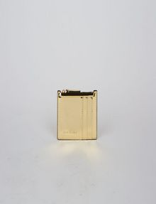 ARMANI EXCHANGE HIGH-SHINE METALLIC TOP-ZIP CARDCASE Wallet [*** pickupInStoreShipping_info ***] f