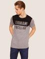 ARMANI EXCHANGE SLIM-FIT GEO LOGO COLORBLOCK CREW Logo T-shirt [*** pickupInStoreShippingNotGuaranteed_info ***] f