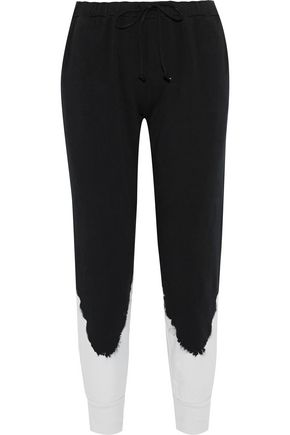 KAIN Keller cotton-fleece track pants