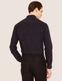 ARMANI EXCHANGE REGULAR-FIT MICRO PLAID SHIRT Checked Shirt [*** pickupInStoreShippingNotGuaranteed_info ***] e
