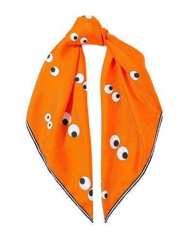 Фото - Женский платок  оранжевого цвета