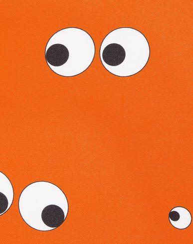 Фото 2 - Женский платок  оранжевого цвета