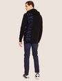ARMANI EXCHANGE LOGO KNIT SWEATER HOODIE Knit Top Man e