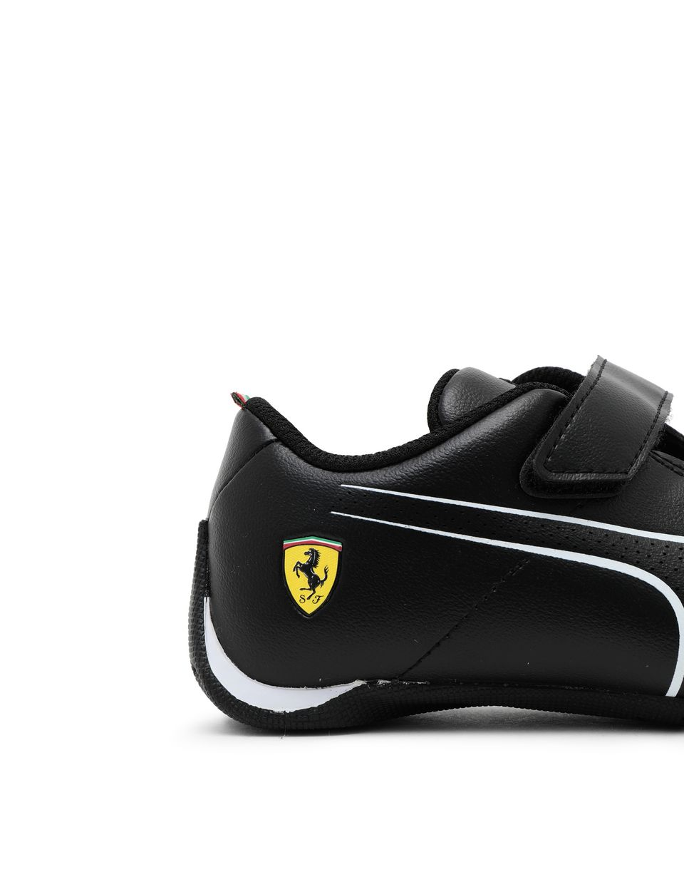 Scuderia Ferrari Online Store - Puma SF Future Cat Ultra shoes for children - Active Sport Shoes