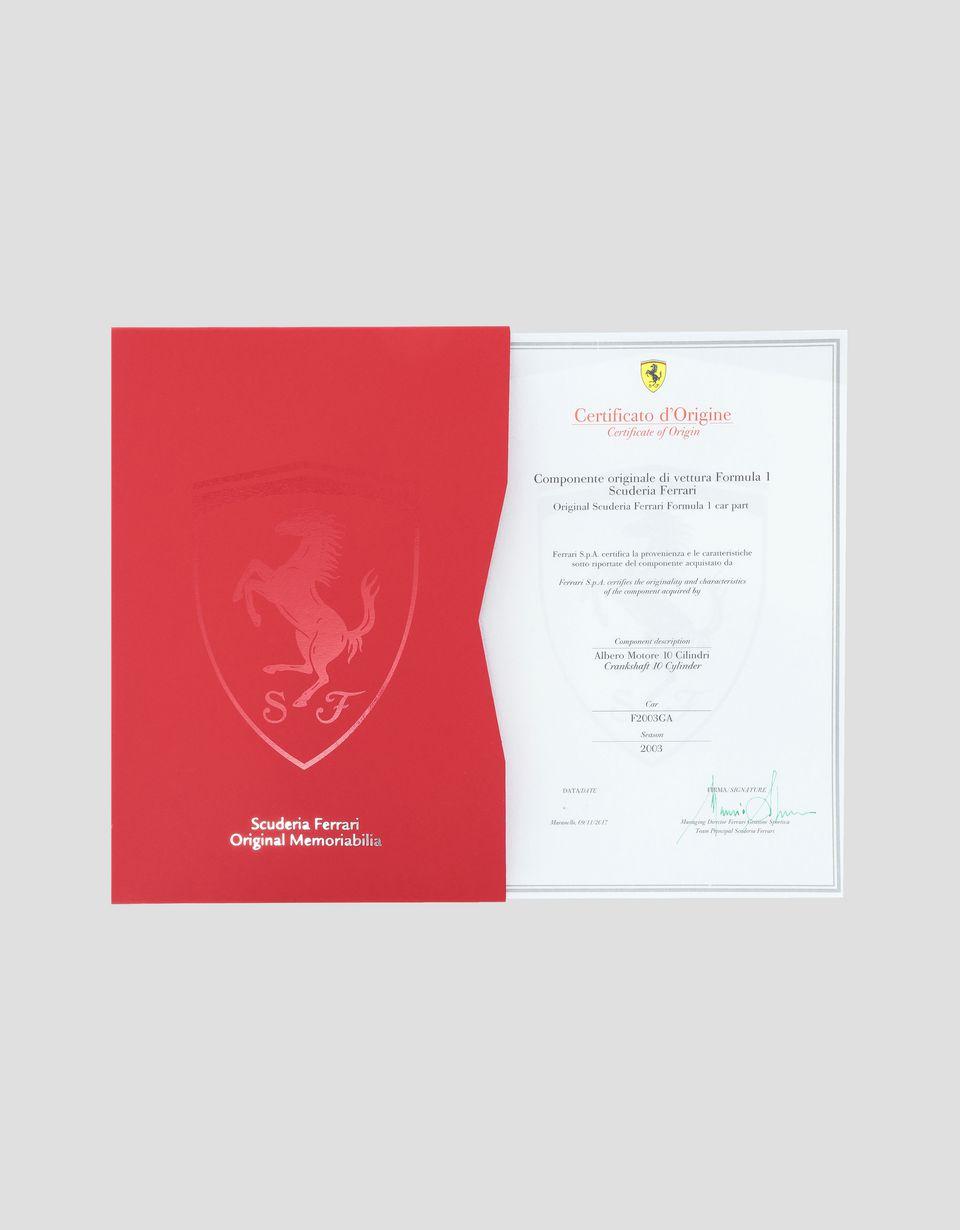 Scuderia Ferrari Online Store - F2003 GA V10 crankshaft - Memorabilia F1