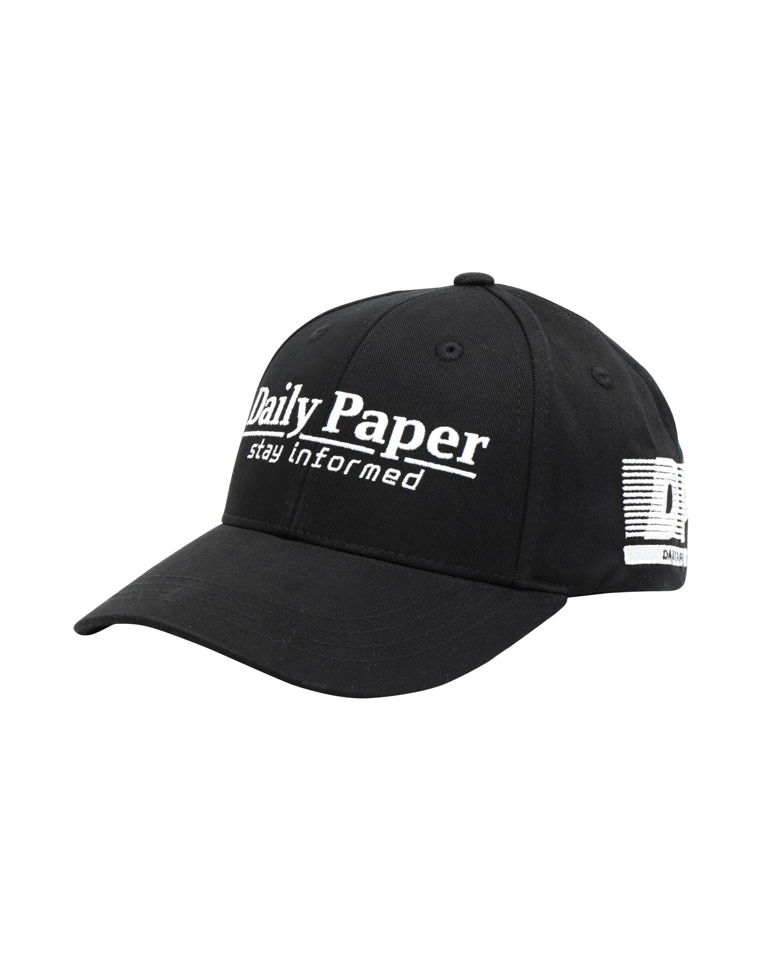 DAILY PAPER Hats in Black