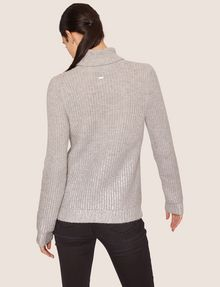 ARMANI EXCHANGE FOIL COATED WOOL-BLEND TURTLENECK Turtleneck [*** pickupInStoreShipping_info ***] e