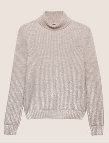 ARMANI EXCHANGE FOIL COATED WOOL-BLEND TURTLENECK Turtleneck [*** pickupInStoreShipping_info ***] r