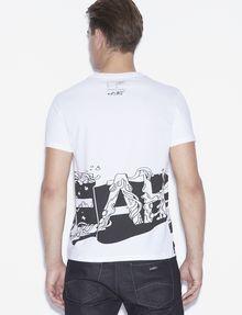 ARMANI EXCHANGE T-Shirt #st_ART Pomme Chan T-Shirt mit Grafik [*** pickupInStoreShippingNotGuaranteed_info ***] e