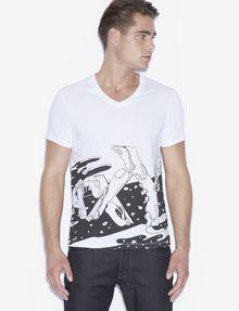 ARMANI EXCHANGE T-Shirt #st_ART Pomme Chan T-Shirt mit Grafik [*** pickupInStoreShippingNotGuaranteed_info ***] f