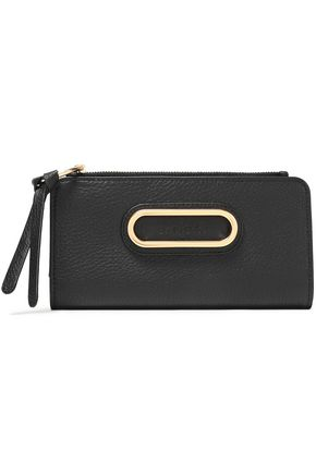 SEE BY CHLOÉ Paige textured-leather wallet