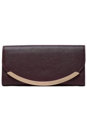 SEE BY CHLOÉ Embellished leather continental wallet