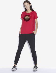 ARMANI EXCHANGE LOVE T-SHIRT MIT WENDEPAILLETTEN T-Shirt mit Grafik [*** pickupInStoreShipping_info ***] d