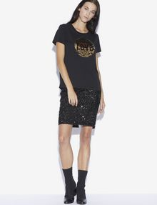 ARMANI EXCHANGE TWO-WAY SEQUIN LOVE TEE Graphic T-shirt [*** pickupInStoreShipping_info ***] d