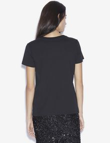 ARMANI EXCHANGE LOVE T-SHIRT MIT WENDEPAILLETTEN T-Shirt mit Grafik [*** pickupInStoreShipping_info ***] e