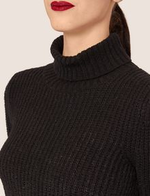 ARMANI EXCHANGE FOIL COATED WOOL-BLEND TURTLENECK Turtleneck [*** pickupInStoreShipping_info ***] b