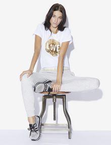 ARMANI EXCHANGE LOVE T-SHIRT MIT WENDEPAILLETTEN T-Shirt mit Grafik [*** pickupInStoreShipping_info ***] a