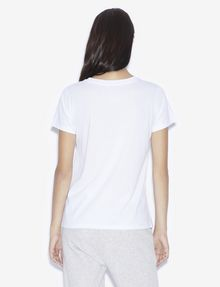ARMANI EXCHANGE TWO-WAY SEQUIN LOVE TEE Graphic T-shirt [*** pickupInStoreShipping_info ***] e