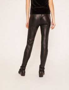 ARMANI EXCHANGE ZIP DETAIL FAUX-LEATHER LEGGING Trouser [*** pickupInStoreShipping_info ***] e