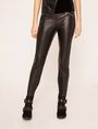 ARMANI EXCHANGE ZIP DETAIL FAUX-LEATHER LEGGING Trouser [*** pickupInStoreShipping_info ***] f