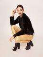 ARMANI EXCHANGE ZIP DETAIL FAUX-LEATHER LEGGING Trouser Woman a