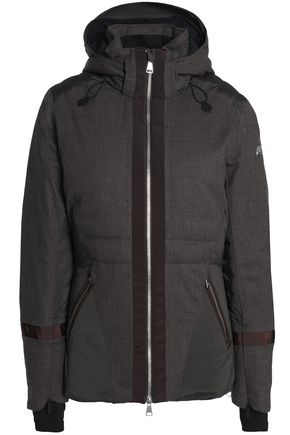 KJUS Shell-paneled wool-blend down jacket