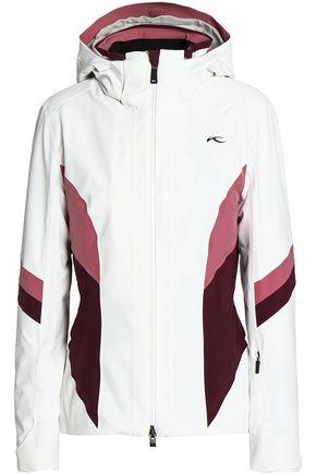 KJUS Paneled shell hooded down jacket