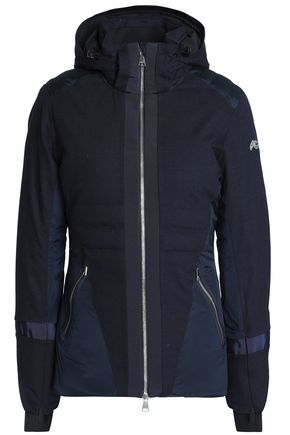 KJUS Shell-paneled wool-blend down jacket