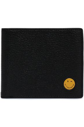 ANYA HINDMARCH Appliquéd leather wallet
