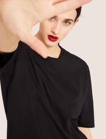 ARMANI EXCHANGE LONGLINE LOGO ARM MAXI TEE Solid T-shirt [*** pickupInStoreShipping_info ***] a