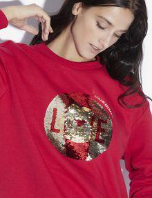 ARMANI EXCHANGE TWO-WAY SEQUIN SWEATSHIRT Sweatshirt [*** pickupInStoreShipping_info ***] a