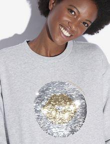 ARMANI EXCHANGE TWO-WAY SEQUIN SWEATSHIRT Sweatshirt [*** pickupInStoreShipping_info ***] b