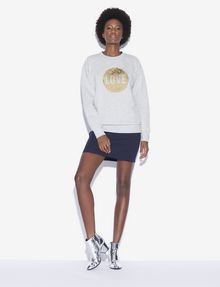 ARMANI EXCHANGE TWO-WAY SEQUIN SWEATSHIRT Sweatshirt [*** pickupInStoreShipping_info ***] d