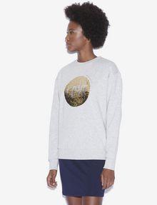 ARMANI EXCHANGE TWO-WAY SEQUIN SWEATSHIRT Sweatshirt [*** pickupInStoreShipping_info ***] f