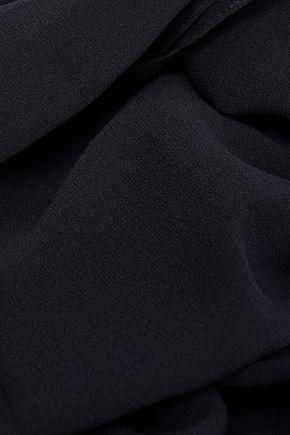 DOLCE & GABBANA Silk-georgette scarf
