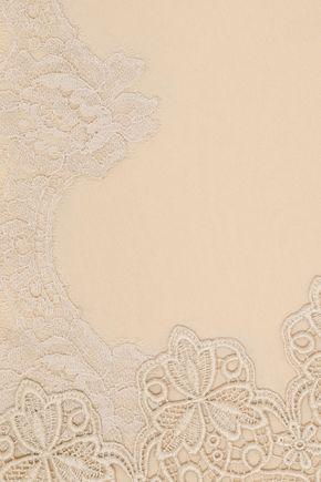DOLCE & GABBANA Silk-blend georgette scarf