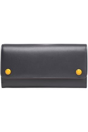 ANYA HINDMARCH Embellished leather continental wallet