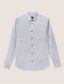 ARMANI EXCHANGE REGULAR-FIT FREEFORM CHECK SATIN-WEAVE SHIRT Printed Shirt [*** pickupInStoreShippingNotGuaranteed_info ***] r