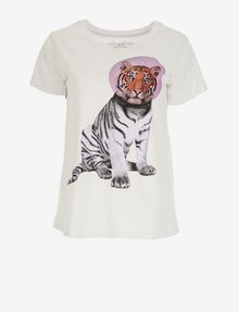 ARMANI EXCHANGE WOMEN'S STREET ART BY PAUL FUENTES CREWNECK TEE Graphic T-shirt [*** pickupInStoreShipping_info ***] r