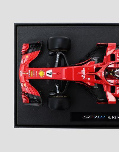 Scuderia Ferrari Online Store - Ferrari SF71H no.7 Räikkönen 1:18 scale model - Car Models 01:18