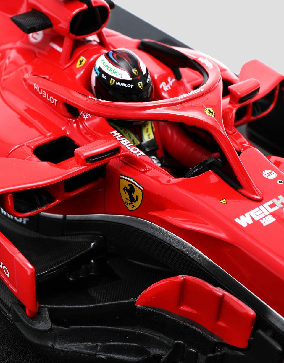 Scuderia Ferrari Online Store - Modèle réduitF1 SF71H n°7 Räikkönen à l'échelle 1/18 - Modèles réduits voiture 1:18