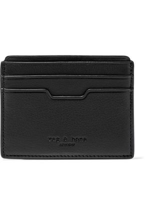 RAG & BONE Textured-leather cardholder