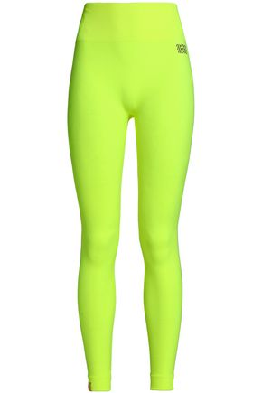 MONREAL LONDON Neon stretch leggings
