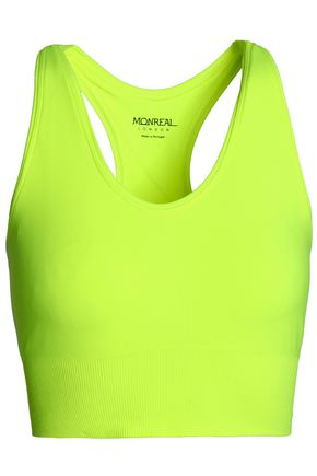 MONREAL LONDON Neon stretch sports bra