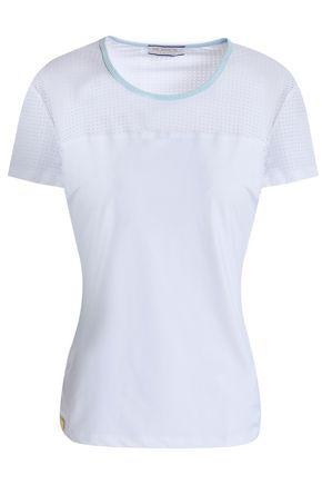 MONREAL LONDON レーザーカット パネルデザイン ストレッチ Tシャツ