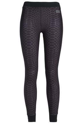 MONREAL LONDON Printed stretch leggings