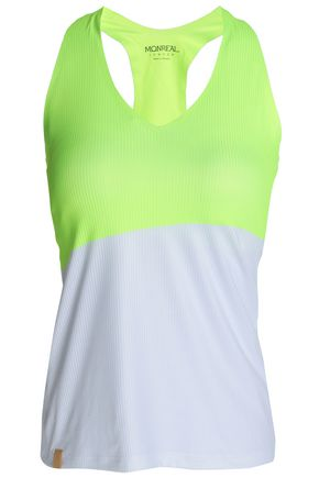MONREAL LONDON Printed stretch-jersey tank