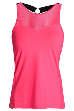 MONREAL LONDON Champion mesh-paneled stretch tank